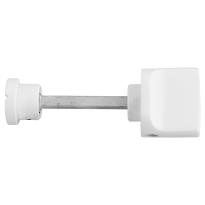 Toiletgarnituur GPF8111.62 toiletstift 5mm wit grote knop