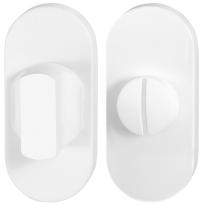Toiletgarnituur GPF8911.44 70x32mm stift 5mm wit grote knop