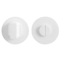 Toiletgarnituur GPF8911.45 50x6mm stift 5mm wit grote knop