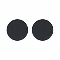 VEILIG klikrozet rond zwart