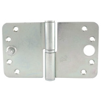 Veiligheids paumelle ronde hoek kantelaaf Ivana veiligheidsuitvoering DIN links 89x150 mm, staal