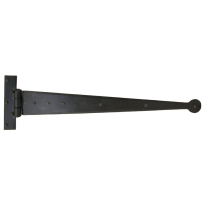 Wardlo scharnierheng 508mm smeedijzer zwart