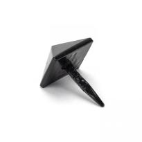 Wardlo siernagel 20x20mm smeedijzer zwart