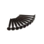 Dulimex schroef tbv scharnieren, zwart kruiskop, 4,5x40 mm, set à 10 stuks