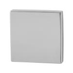 Blinde rozet GPF0900.42 50x50x8mm RVS gepolijst