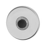 Voordeurbel GPF9826.45 rond 50x6 mm RVS gepolijst