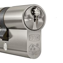 DOM Plura profielcilinder SKG***, halve cilinder