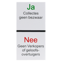 Ja / Nee sticker