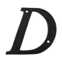 Landelijke huisnummer letter 'D'