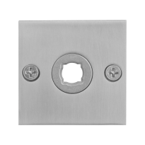Rozet GPF1100.08 50x50x2mm RVS geborsteld