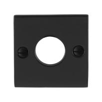 Rozet GPF6100.08 52x52x4mm smeedijzer zwart