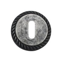 Sleutelrozet 1351/B 51x10mm antiek chroom