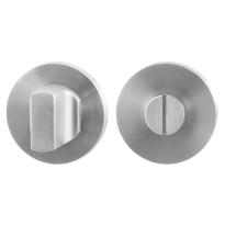 Toiletgarnituur GPF0910.00 50x8mm stift 8mm RVS geborsteld grote knop