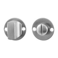 Toiletgarnituur GPF0911.07 38x2mm stift 5mm RVS geborsteld grote knop