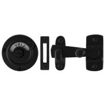 Toiletgarnituur GPF6915.60 toiletstift 8mm smeedijzer zwart