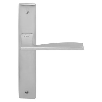 1030L Link deurkruk op schild PC55 linkswijzend