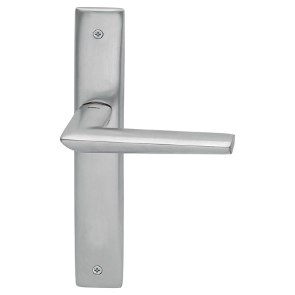 1080R Isi deurkruk op schild blind rechtswijzend