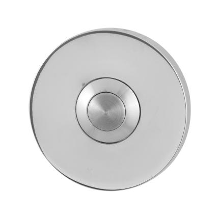 Deurbelknop GPF9827.45 rond 50x6 mm RVS gepolijst