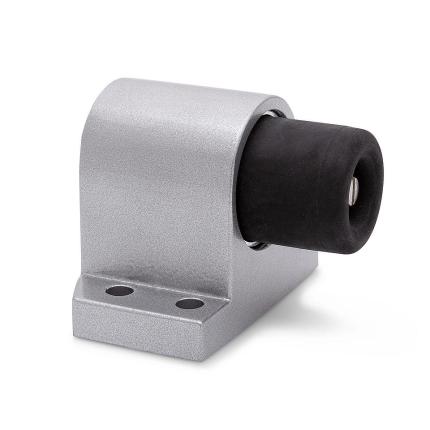 Deurstopper vloermodel Robusto zilvergrijs, 90x72 mm