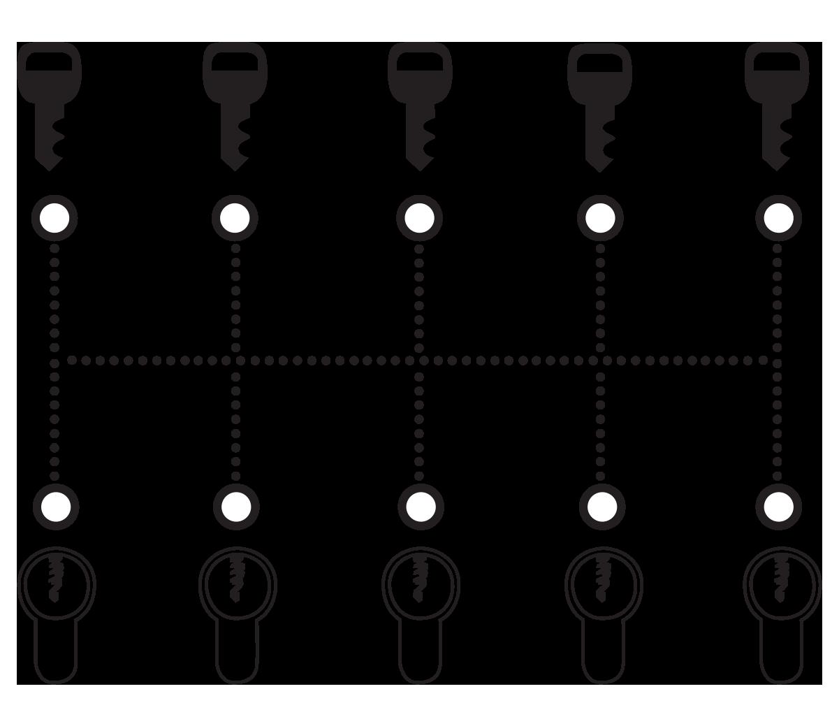 Functie van een monosluitende cilinder