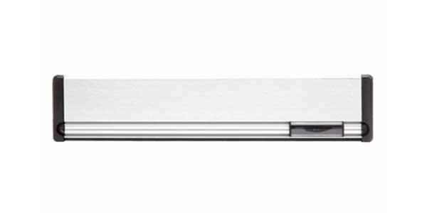 Briefplaat aluminium