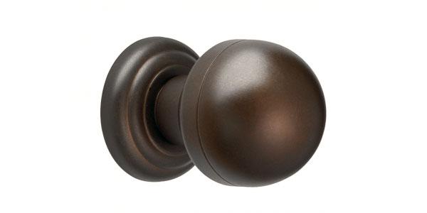 Deurknoppen brons