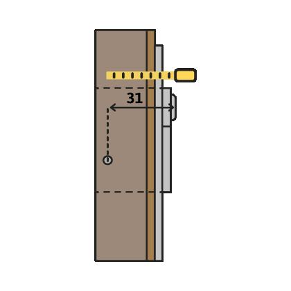 Maatvoering cilindermaat