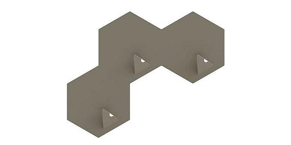 Kapstokhaken beton