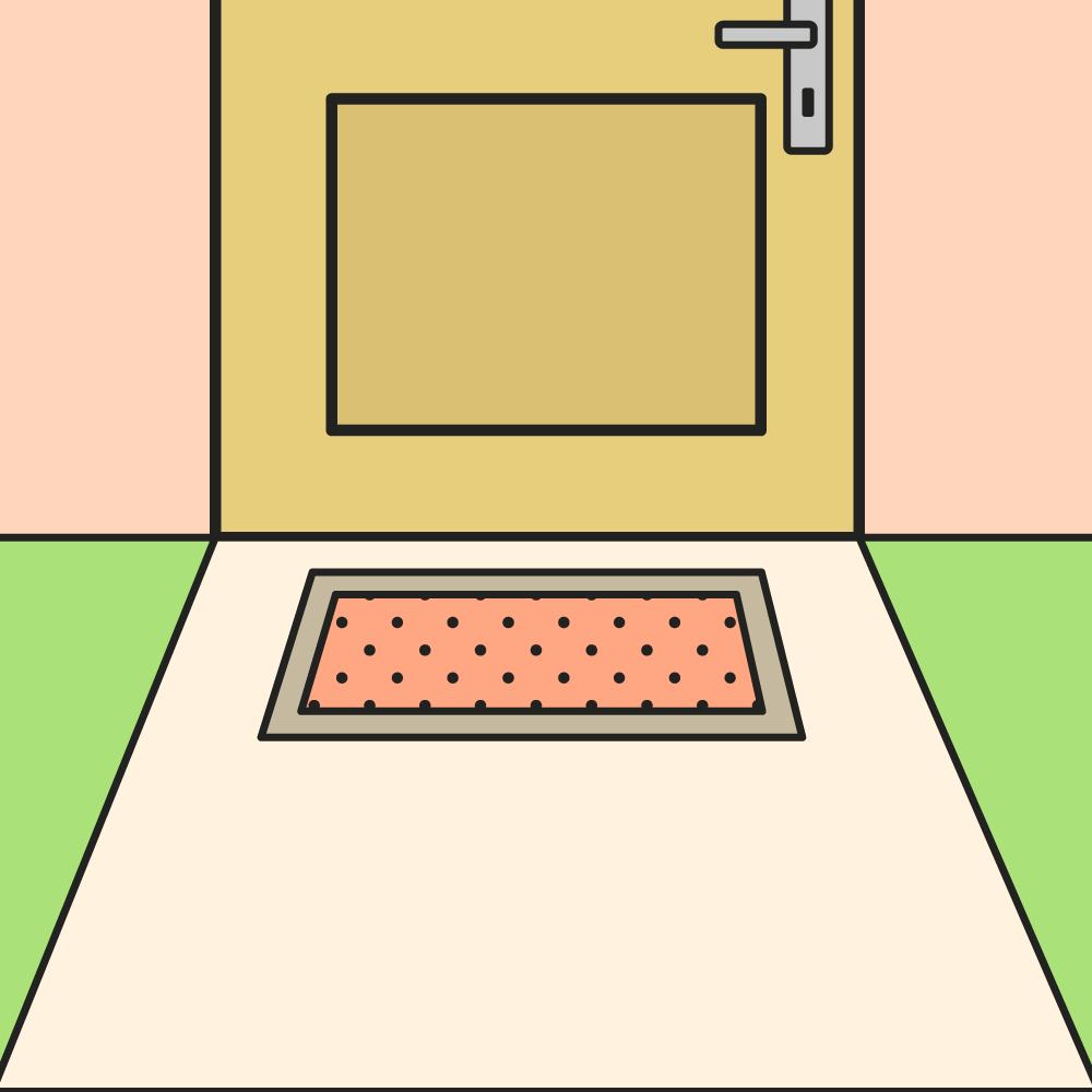Keuze deurmat